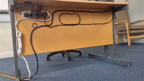 cable holder under desk under desk wire management hostgarcia