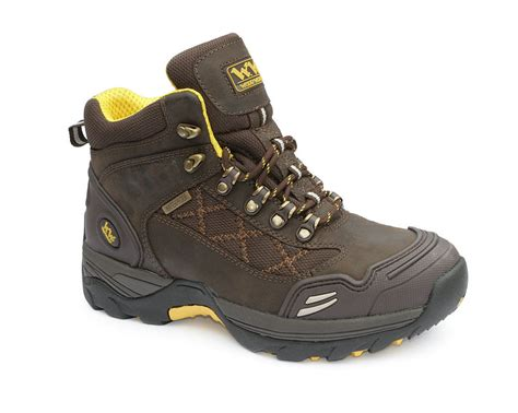 Sepatu Safety Boot Suedeshoes Steel Toe Boot Brown Sepatu Pria wood world waterproof steel toe safety work boots brown ebay