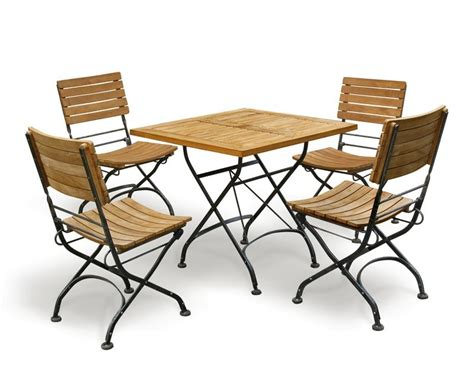 bistro square table and 4 chairs patio garden bistro dining set