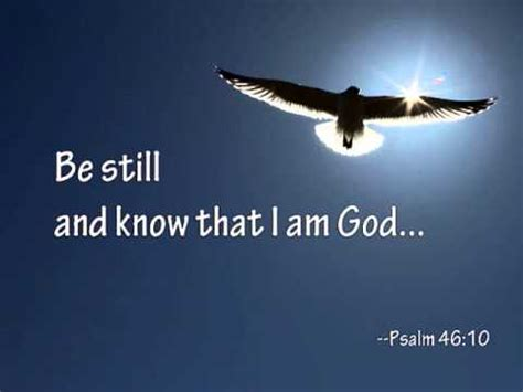 be still and know that i am god tattoo be still and that i am god