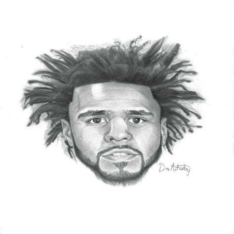 J Cole Sketches by The Gallery For Gt Drawing Of J Cole