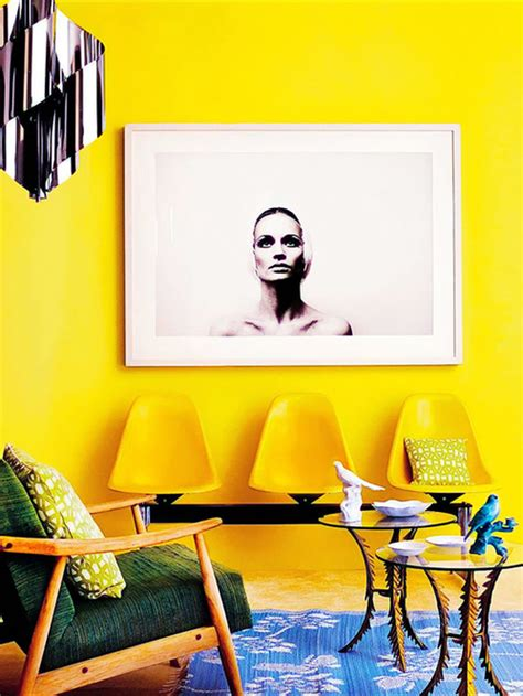 interior design amarillo inspiration decorating with yellow checks and spots