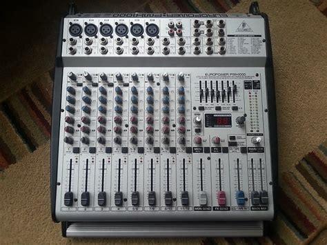 Power Mixer Behringer Pmx behringer europower pmx1000 300 watt mixer reverb