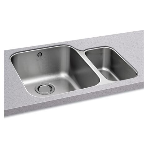 carron ibis 150 undermount stainless steel