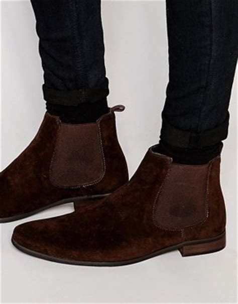 s chelsea boots black suede chelsea boots asos
