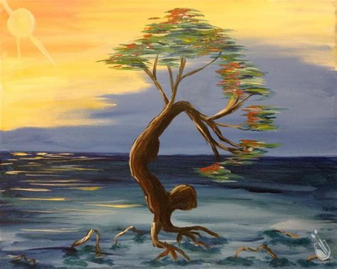 paint with a twist traverse city tree wednesday january 11 2017 painting with a