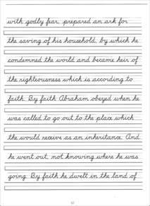 cursive sentences worksheets sharebrowse
