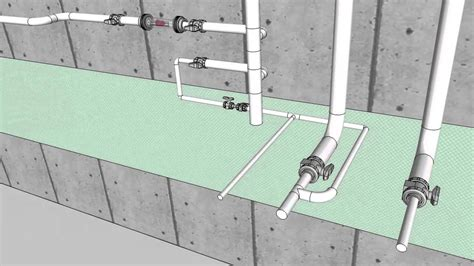 Rough Plumbing jonathan rubin plumbing sketchup cad 3d modeling mep