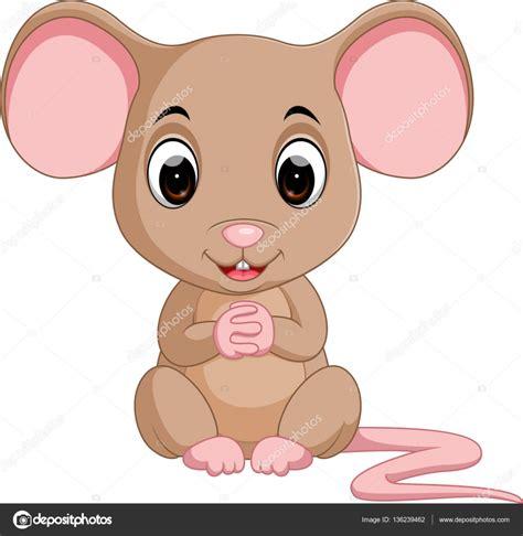 imagenes de ratones kawaii caricatura lindo del rat 243 n vector de stock
