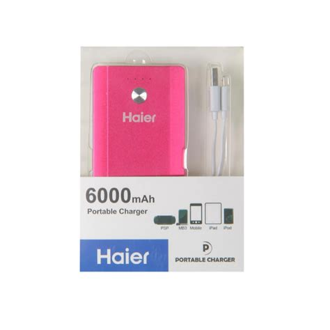 Wellcomm Powersafe 6000 Mah Pink buy from radioshack in haier lb c126 power bank 6000mah pink for only 187 egp the