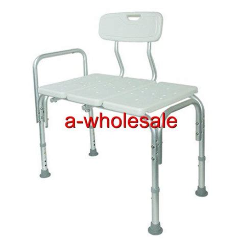 shower bath chair bathroom bath tub shower transfer bench stool chair bath seat 79 99 picclick