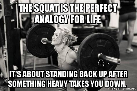 squat   perfect analogy  life sikhnet