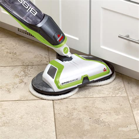 Hardwood Floor Scrubber Bissell Spinwave Powered Hardwood Floor Mop And Cleaner 2039a Home Kitchen