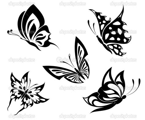 black and white butterfly tattoo https www it blank html farfalle
