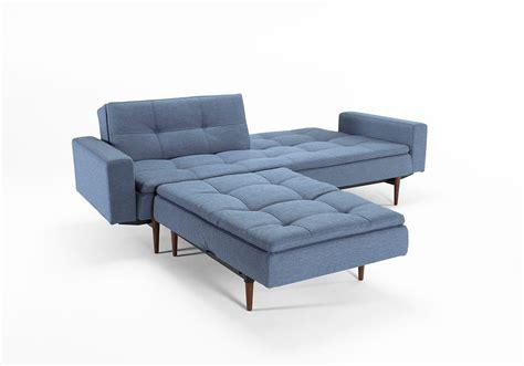 innovation futon dublexo sofa bed in mid century