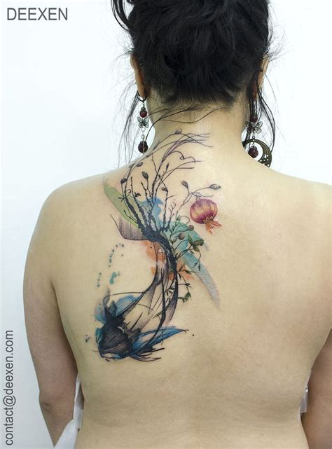 watercolor koi tattoo 25 best ideas about watercolor fish on