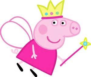 peppa pig vector clipart