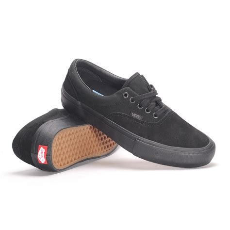 vans mens shoes vans era pro blackout s skate shoes ebay