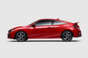 Honda Civic Coupe 2017 Honda Civic Si Coupe Side Profile 1 Motor Trend