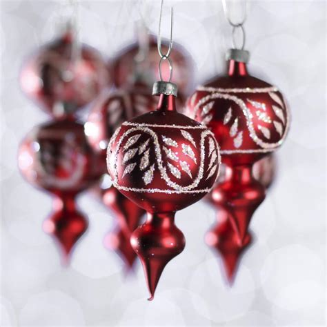 small glass christmas ornaments christmas ornaments