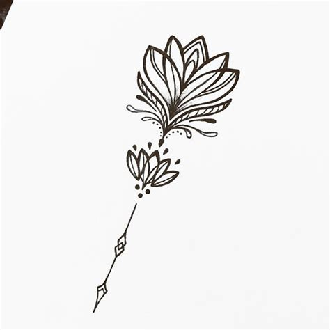 lotus tattoo zwart wit collection of 25 lotus tattoo