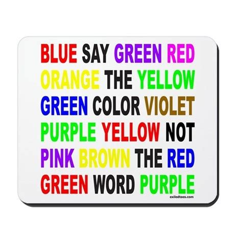 how to say color in say the color not the word mousepad by exiledtees
