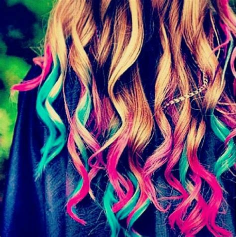 colorful ombre colourful ombre hair hair creative my