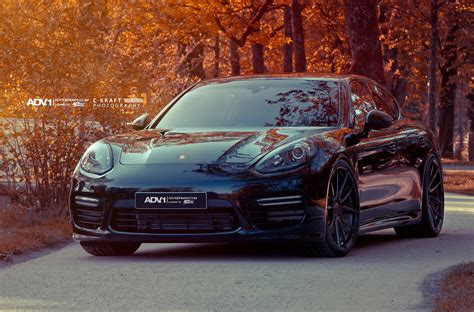 porsche panamera turbo black porsche panamera gts adv5 0 m v2 cs wheels gloss black