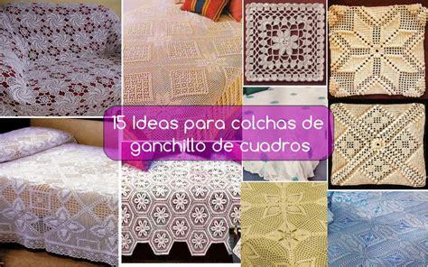 como tejer crochet para colcha en cuadros 15 ideas para colchas de ganchillo de cuadros