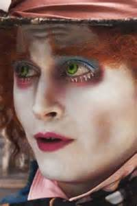 johnny depp eye color mad hatter makeup on