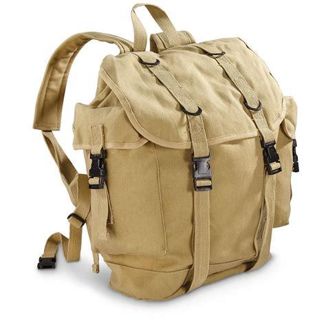rucksack contents style alpine canvas rucksack 653003 rucksacks
