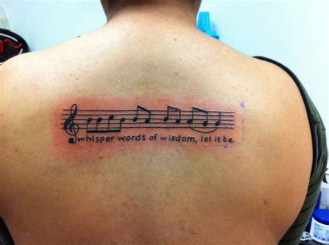 words of wisdom tattoo designs whisper words of wisdom let it be