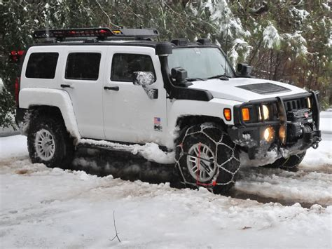 Need To Find Out Clearance For My H3 To Buy Snow Chains