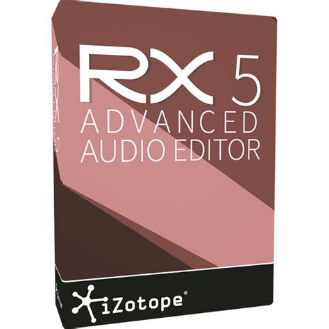 advanced updated for 4 books izotope rx 5 advanced upgrade audio restoration