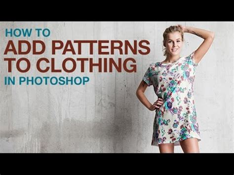 how to make a pattern in photoshop youtube how to add patterns to clothing in photoshop youtube