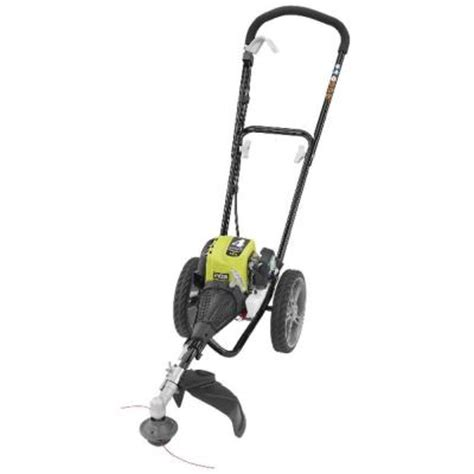 ryobi 4 cycle 30cc gas wheeled trimmer ry13016 the home