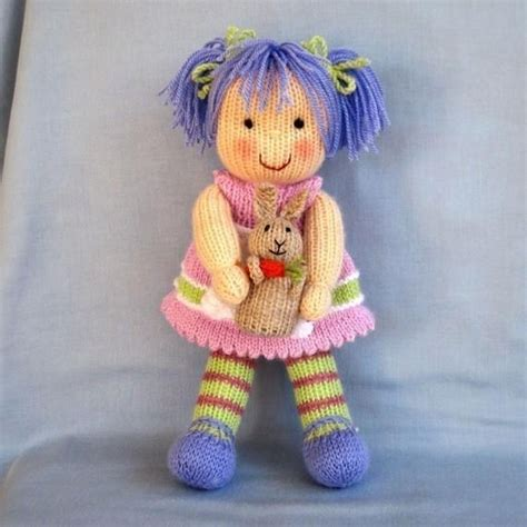 free knitted doll patterns lavender knitted doll knitting pattern by dollytime