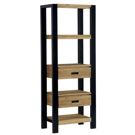 etagere 70 cm de large etag 232 re pin massif bross 233 2 tiroirs 70cm loundge
