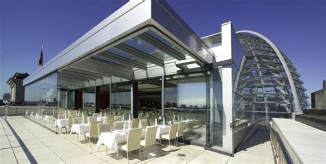 Roof Top Bars Berlin by Restaurant K 228 Fer At Bundestag Rooftop Restaurants With A