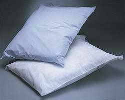 hospital bed pillows disposable pillow cases for medical hospital exam