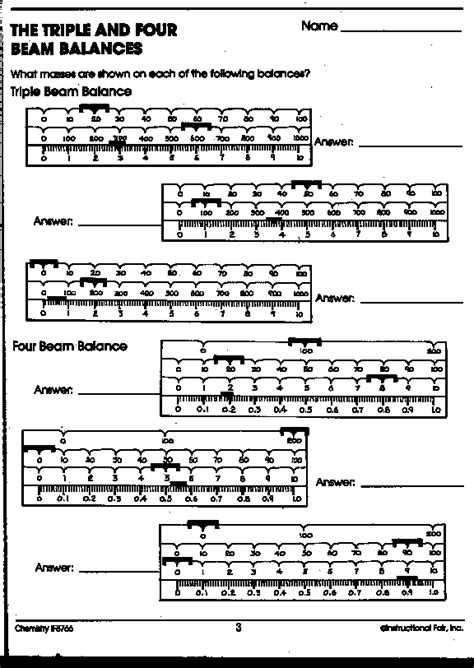 Measuring Mass Beam Balance Worksheet by Reading Beam Balance Worksheet Worksheets