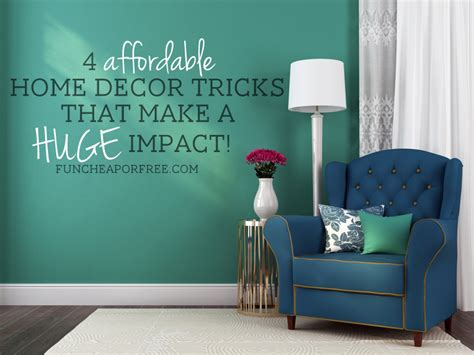 discount home decor 4 affordable home decor tricks that make a impact