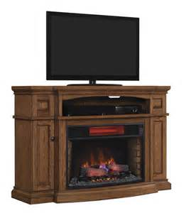 fireplace tv stand menards midway electric fireplace in premium oak at menards 174