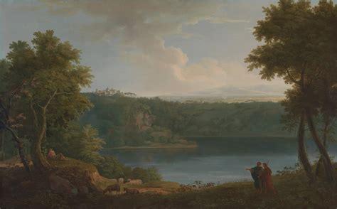 painting artist file george lambert lake albano project jpg