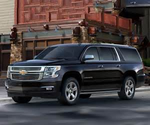 2017 chevy suburban suv premier lt and ls trims with