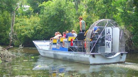 fan boat orleans guided destrehan plantation barataria sw tour
