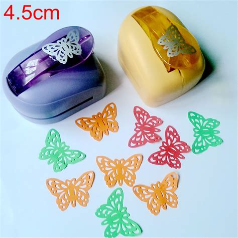 paper punches for crafts jef large butterfly shaper craft punch scrapbooking