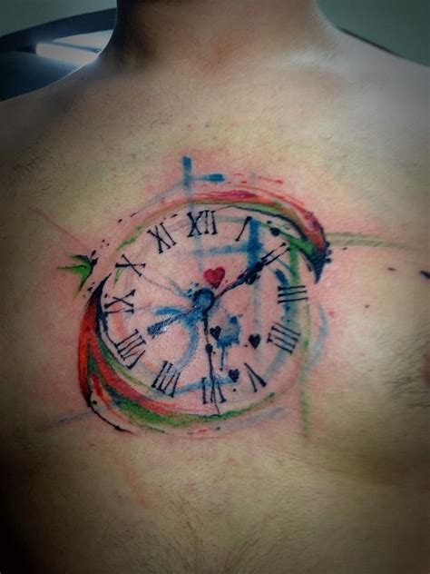 watercolor tattoo over time 21 beautiful exles of watercolor tattoos dandelion guff