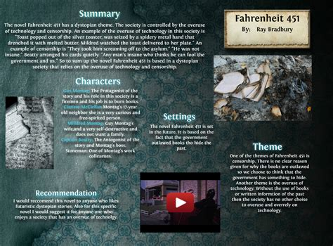 overused themes in literature fahrenheit 451 451 arts book eng fahrenheit language