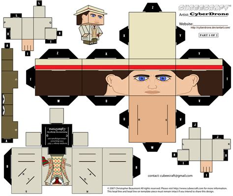 Today Papercraft by Cubee The 7th Doctor Part 1of2 By Cyberdrone On Deviantart